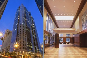 8 Symphony Towers Lobby and Building